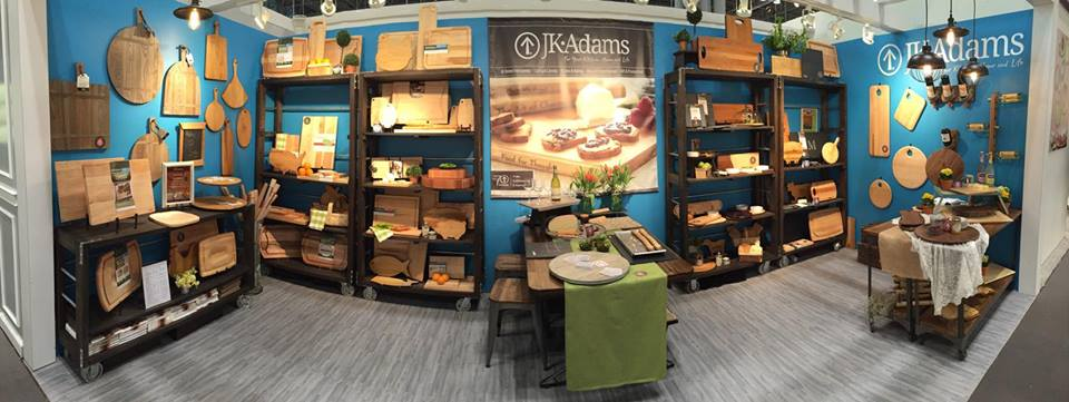 J.K.Adams Tradeshow Booth