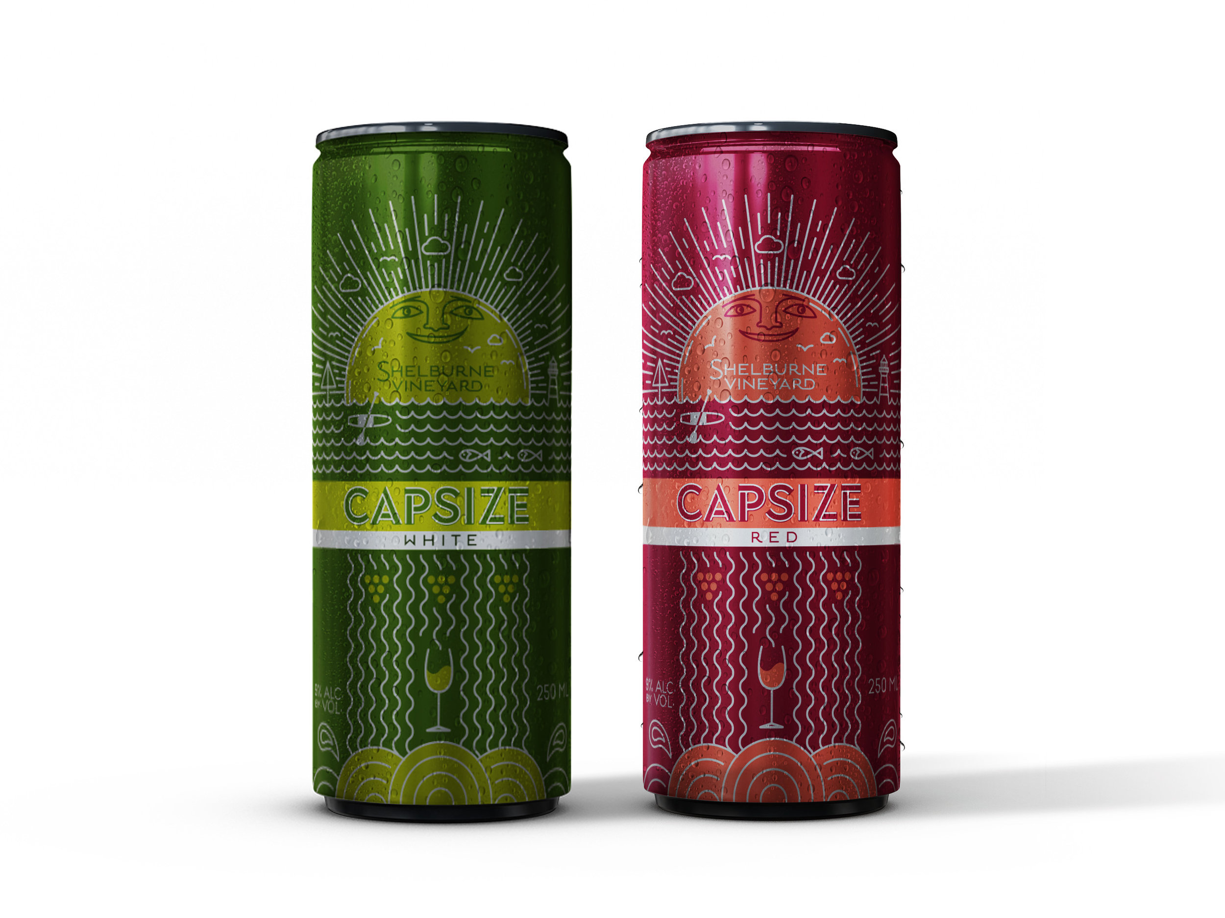 Shelburne Vineyard Capsize Packaging