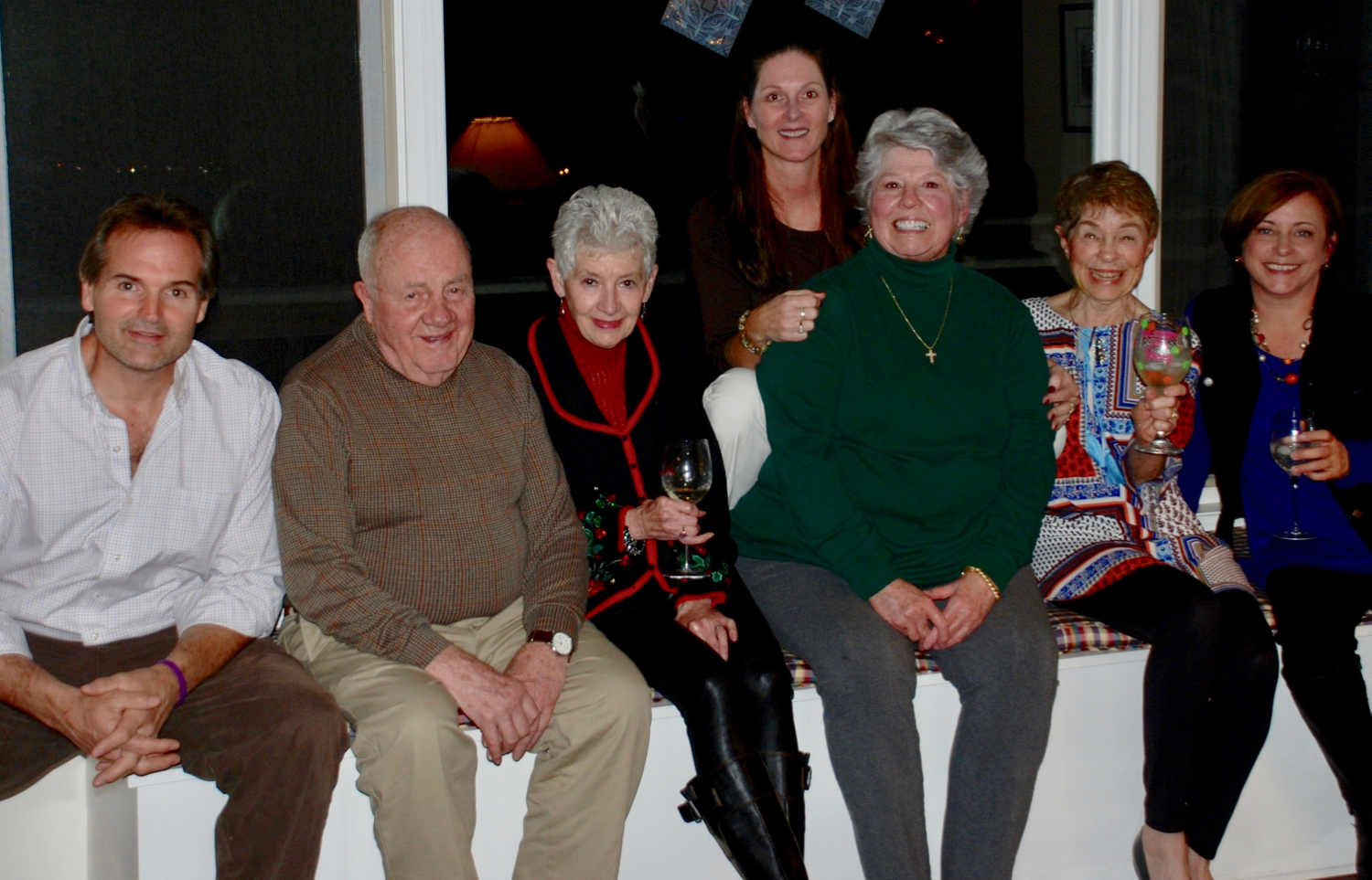 Group at Foyers Dinner