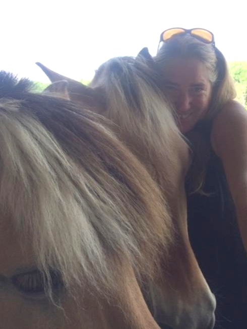 Me and Lena and Leo at Horses Touch