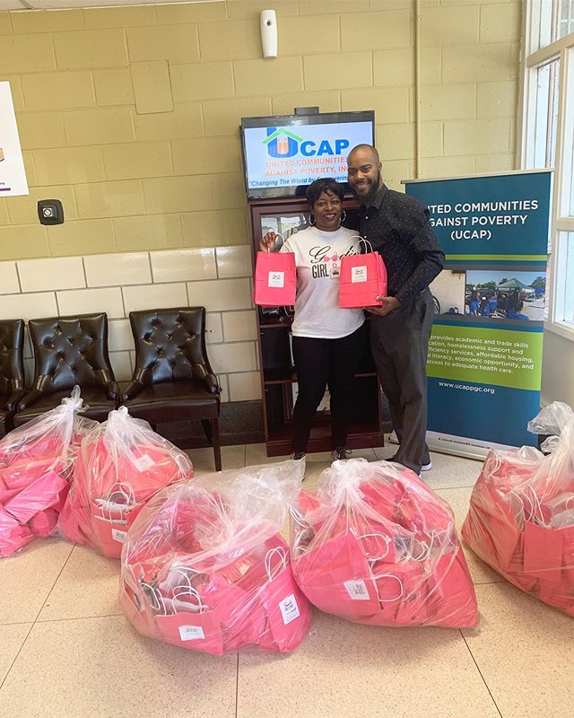 🛍 DONATION DROP-OFF 🛍 Special thanks to our Chief Board of Directors @mskecia for dropping off 100 Goodie Girl Bags to UCAP (United Communities Against Poverty) in Maryland.  These bags were packed with love by @wowatpgcc at @cherryblossomintimates 💞 . . . UCAP is also the home of Shepherd's Cove Emergency Shelter in PG County & we gladly donated our Goodie Girl Bags to them as well! We truly appreciate the unwavering support of our mission to help women in need.💞🛍 ---------------------------- UCAP's Mission: To provide solutions to alleviate poverty in Prince George's County's diverse communities. Our Vision: To eliminate poverty and maximize self-sufficiency in Prince George's County.  #goodiegirlbags #donationdropoff #dmv #pgcounty #supportthegoodies #ucapevent #ucaphealthycommunity #ucappgc #shepherdscoveshelter #femininehygiene #bras #womenhealth #homeless #voluteerlife #donations #maxipads #ucapdonations #donationsmatter #ucapdonors
