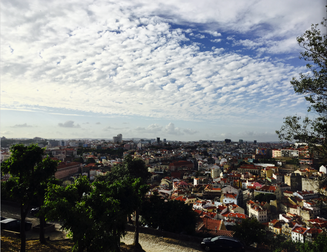 View of Baixa from the Castle