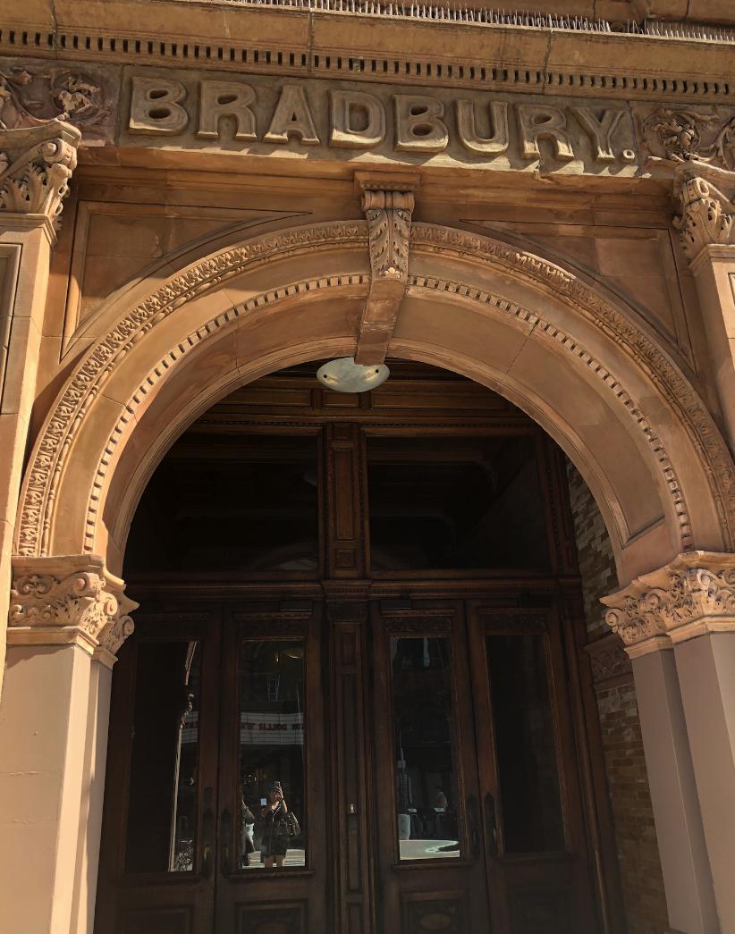 Facade of the Bradbury Building