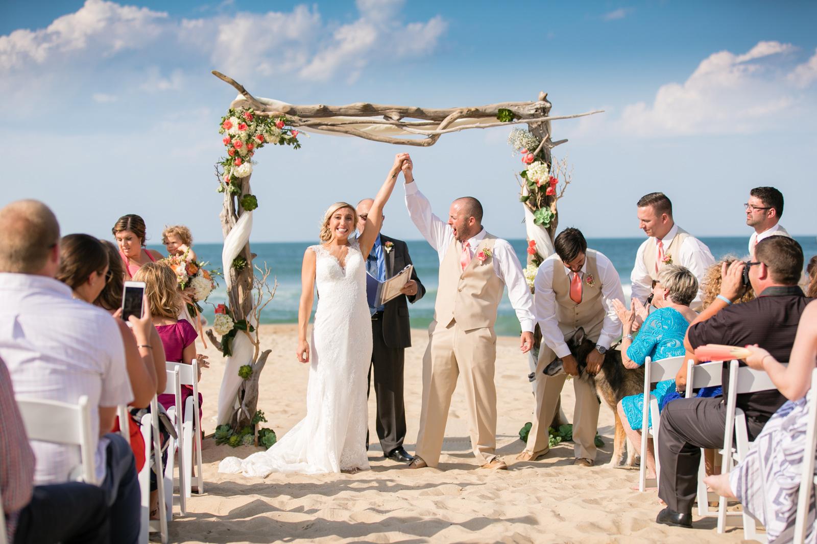Cheryl + Anthony; Jennette's Pier Wedding