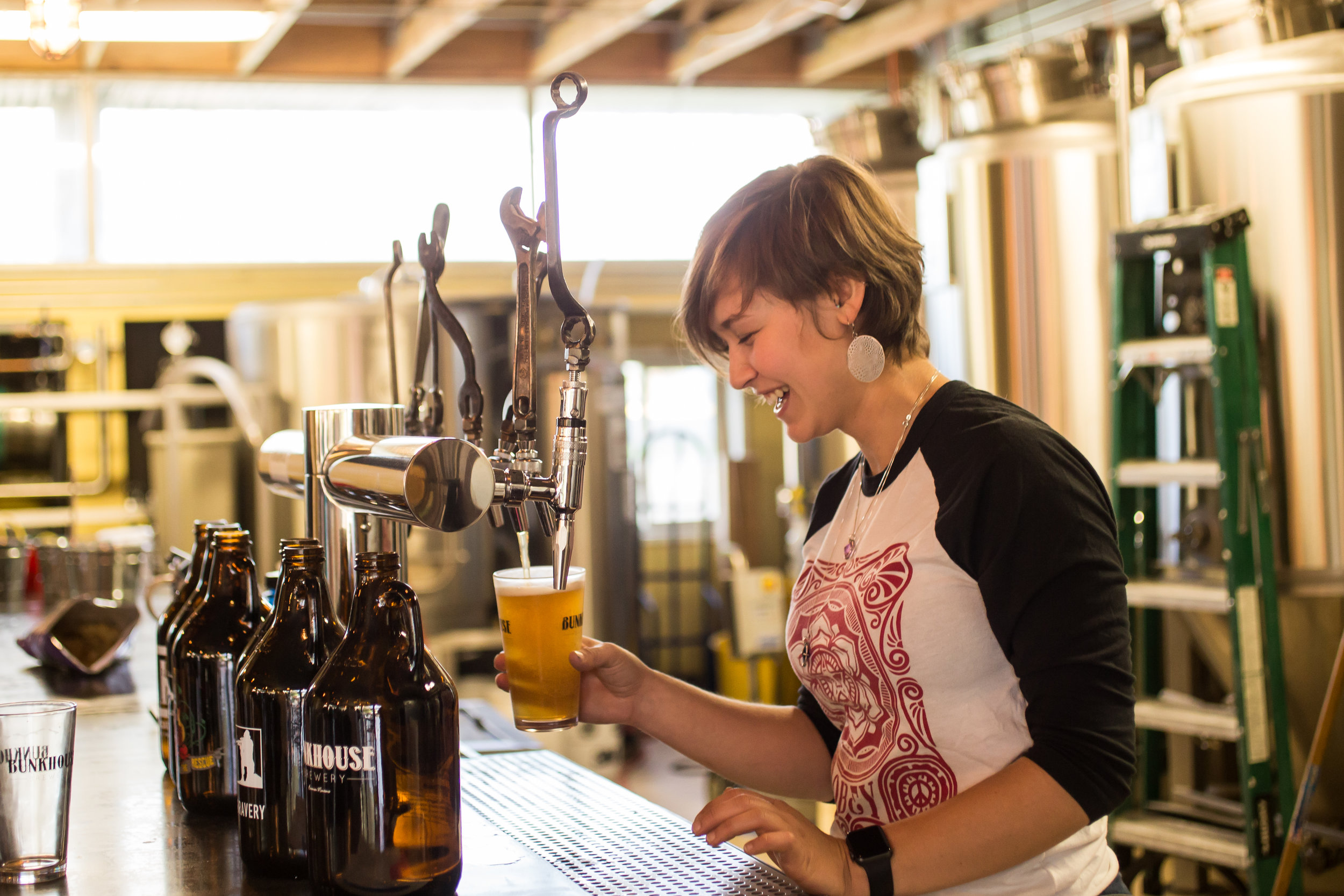 woman pouring beer.JPG
