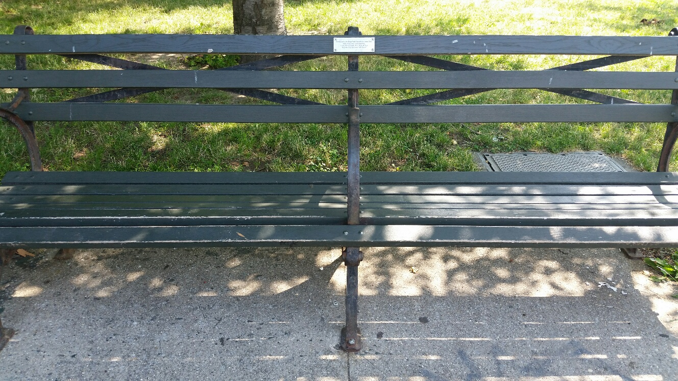 Adopt-a-Bench - What is Adopt-a-Bench?Flushing Meadows Corona Park is an 898-acre park in Queens. It is surrounded by 6 different Community Boards and is home to world famous cultural and athletic facilities. The park serves as a haven where New Yorkers and visitors alike can enjoy nature in an urban environment. Help us care for our parks while leaving your mark!Your tax-deductible donation of $2,500 supports our park and will pay for the installation of a personalized message on a plaque for your favorite park bench. Adopt-a-Bench is the perfect way to honor a loved one, celebrate a special occasion or anniversary, recognize a community member, or leave birthday wishes or proposals!To learn more and donate please, download our Adopt-a-Bench Donation Form
