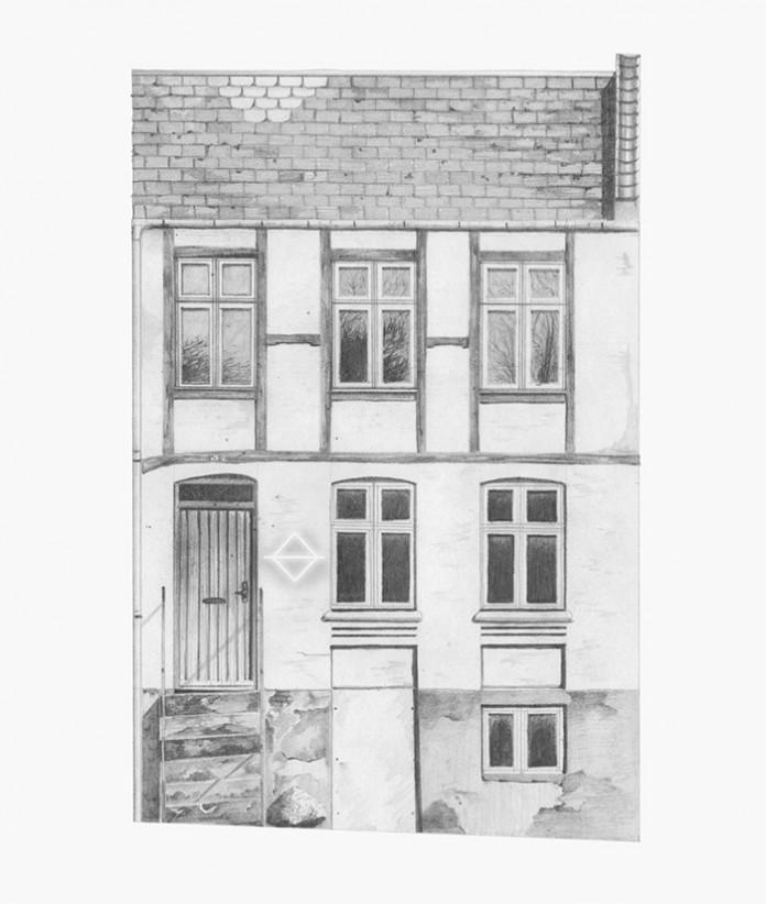 Hus på Møllegade.
