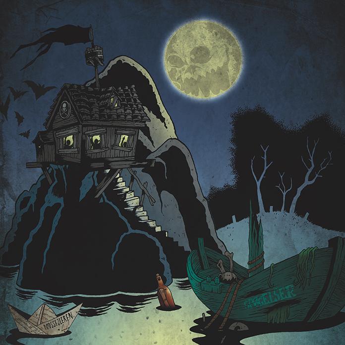 Den endelige illustration til pladecoveret.