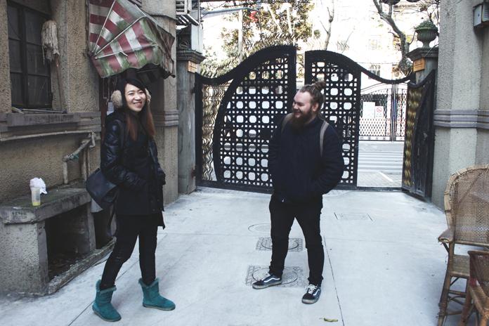Billeder fra The Singing Tree | På det sidste billede er Sylvia og jeg på vej ud for at spise frokost. :) | Fotos: Johanne Ib.