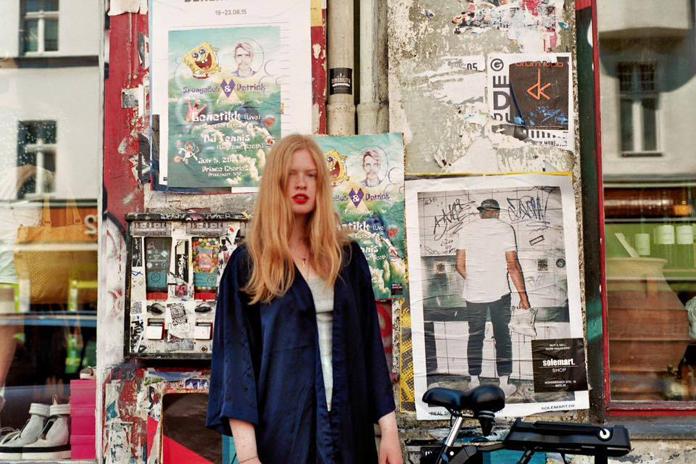 Portræt af mig | Foto af Mona Cordes.