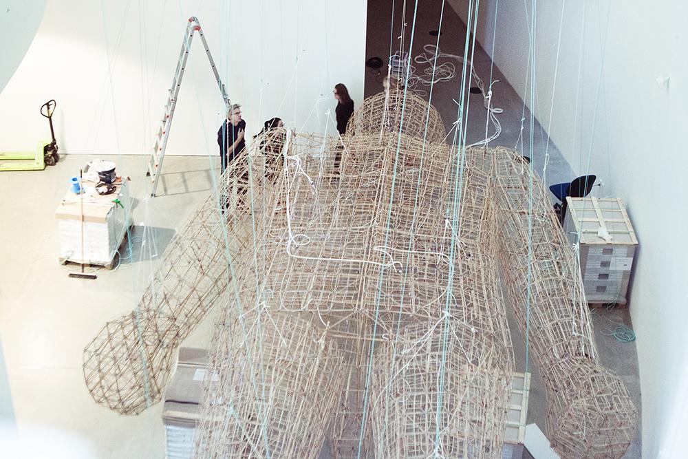 Proces   Opsætning af Ai Weiwei's værk til A New Dynasty – Created in China   Photos: Rikke & Matias © I DO ART Agency