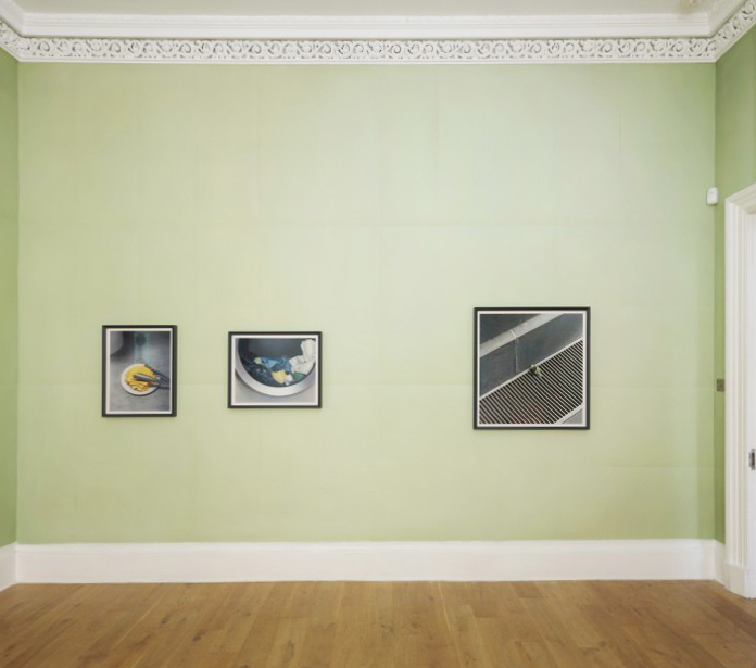 Works by Thomas Demand   Installation photo by Ruth Clark.