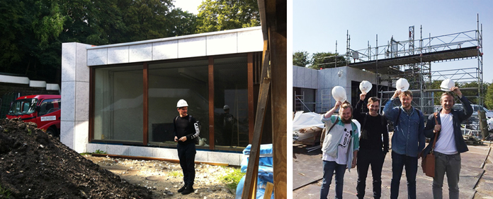 Reseachtur | Kunstmuseet  Kunsten  i Aalborg som netop nu er ved at blive ombygget.
