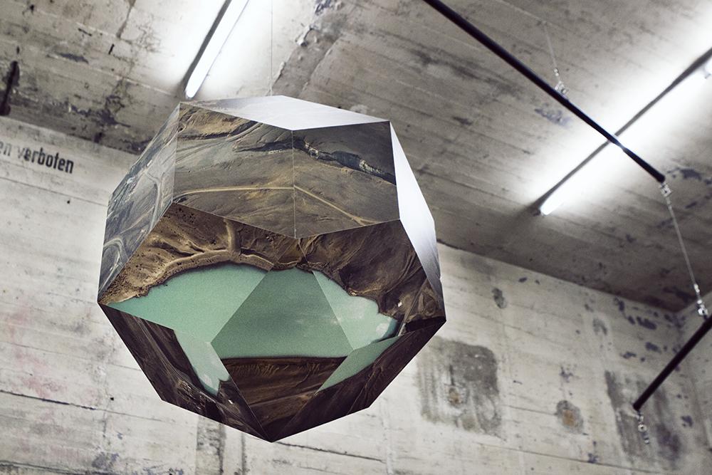 Work by Olafur Eliasson.