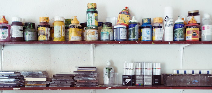 Atelier på Museum Ovartaci.