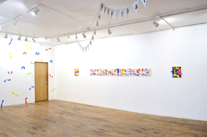 Installation photos from FIVE (group show) | LVL3 Gallery, Chicago, IL | 2015.