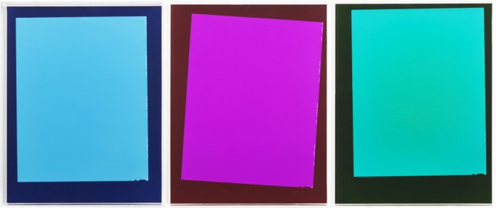 """Ebbe Stub Wittrup """"After Matyushin's Guide to Color"""", 2014 