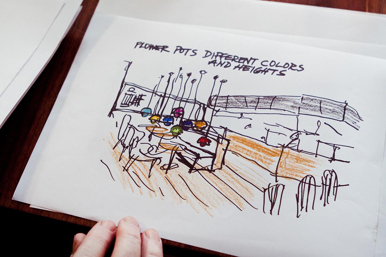 Ruds tegninger | Fotos af Rikke Luna & Matias © I DO ART Agency.