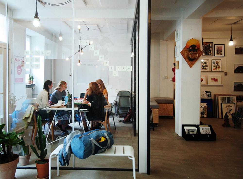 Kontor   Foto: Maria & Louise Thornfeldt.