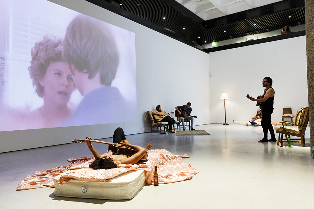 Installation view. Barbican Art Gallery 14 July - 4 September 2016 © Tristan Fewings/ Getty Images. Courtesy of the artist, Luhring Augustine New York and i8 gallery Reykjavik.