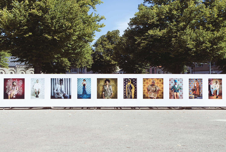 Works by Omar Victor Diop   Installationphotos by Rikke Luna & Matias © I DO ART Agency.
