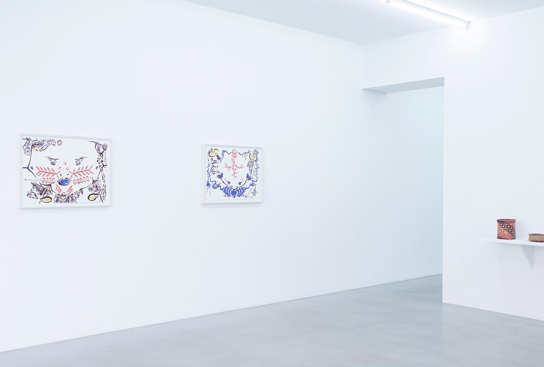 Marjetica Potrc at Galerie Nordenhake | Photo by Rikke Luna & Matias © I DO ART Agency.