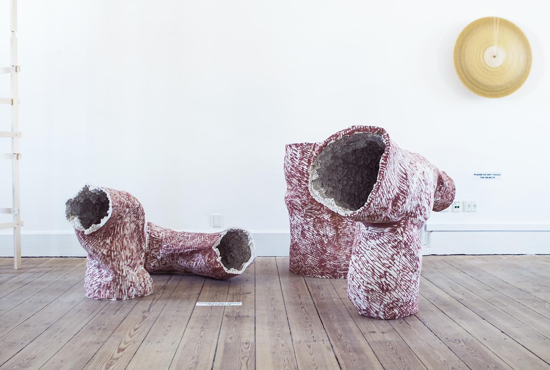 Carl Emil Jacobsen,  Red Volumes  | Foto af Rikke Luna & Matias © I DO ART Agency.