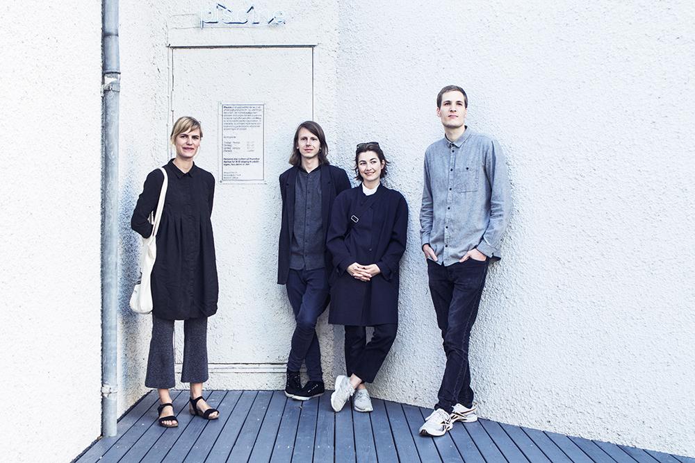 Fra venstre: Ida Thorhauge, Mark Tholander, Mikkeline Daa Natorp & Jens Settergren | Alle fotos af Rikke Luna & Matias © I DO ART Agency.