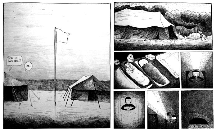 Illustrations by Line Refstrup.
