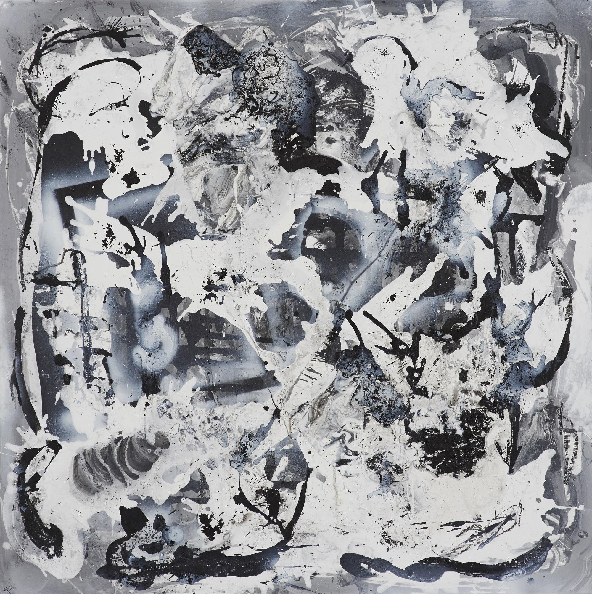 "Morten Rockford Ravn  ""Defragmenting My Mental Harddisk"",  2015 (maleri)."