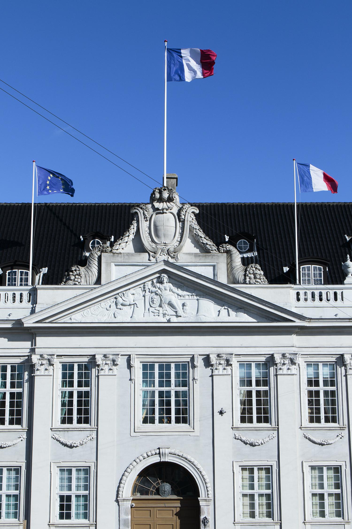 Den Franske Ambassade | Fotos: Rikke Luna & Matias © I DO ART Agency.