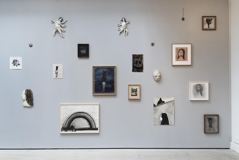 Klara Kristalova på GL. Strand, Installation view | Foto © I DO ART Agency.