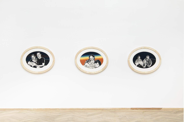 "Nina Mølgård Knappe ""Fastfrosset tid I, II, III"" | Foto: I DO ART Agency."