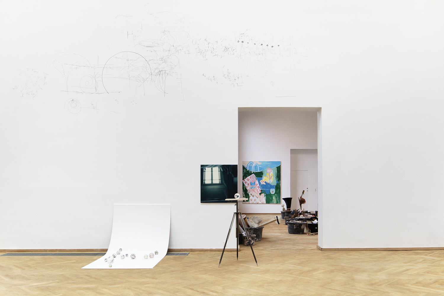 """Veronica Riget """"Preparations to leave the surface"""" 