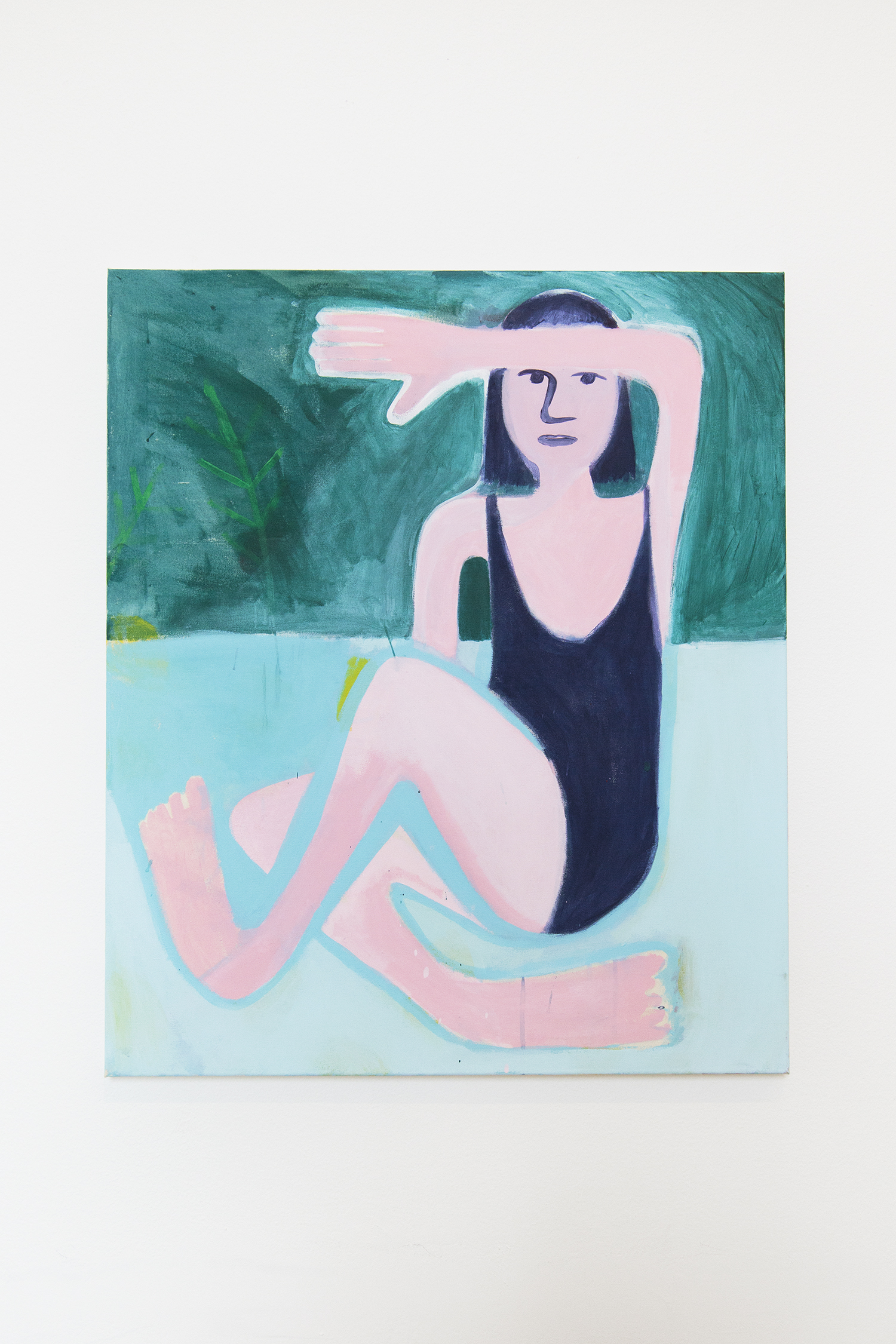 "Coline Marotta ""I hope I am not too lazy to become a painter (Coline on the beach)"" | Foto: I DO ART Agency."