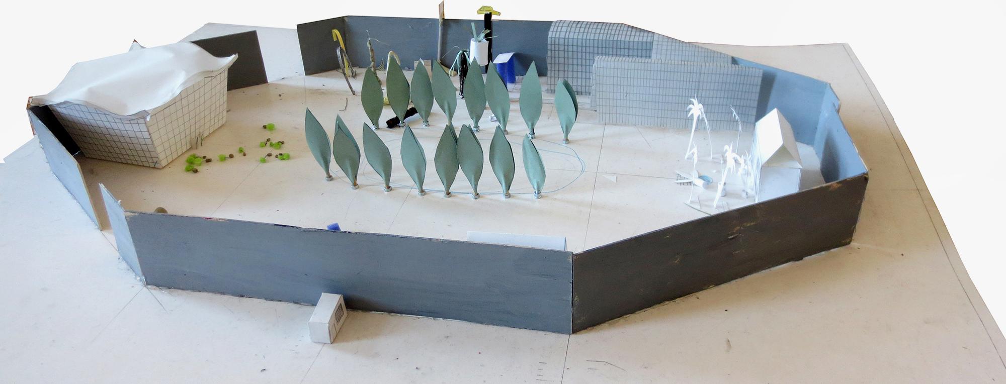 """Model of """"Le Parc""""."""