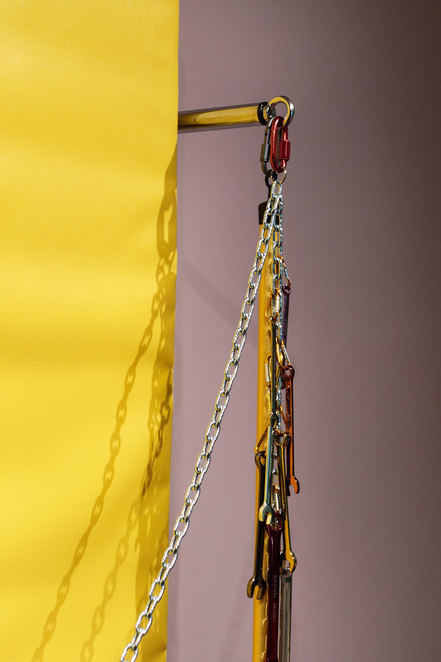 Maiken Bent, Yellow (Detalje)   Foto: Rikke Luna & Matias © I DO ART Agency.