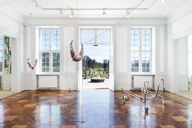 Maiken Bent, Løsøre på GL Holtegaard, 2017. Foto: I DO ART Agency.
