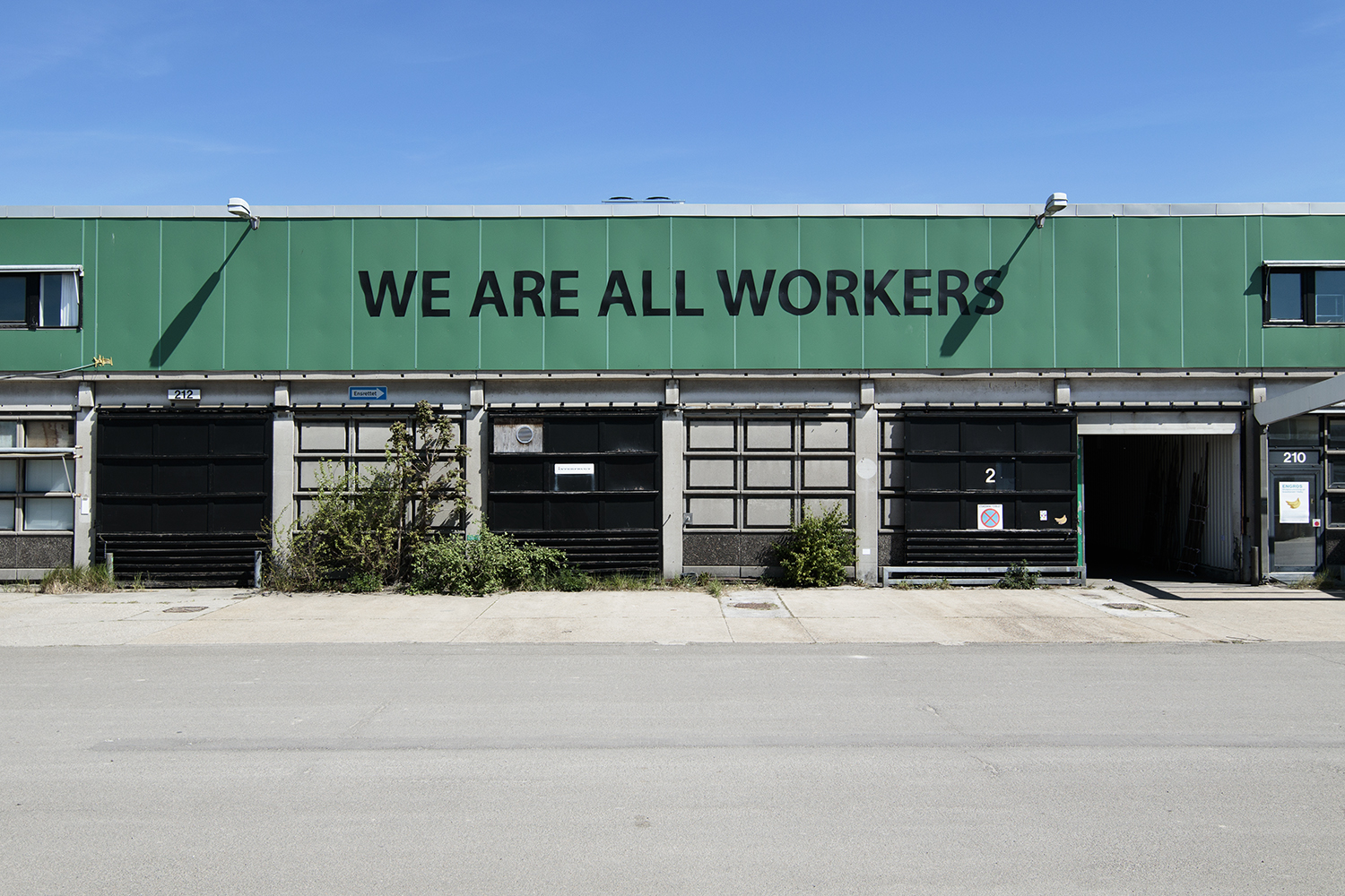"Mikkel Carl ""We Are All Workers"", 2017 (2015) 