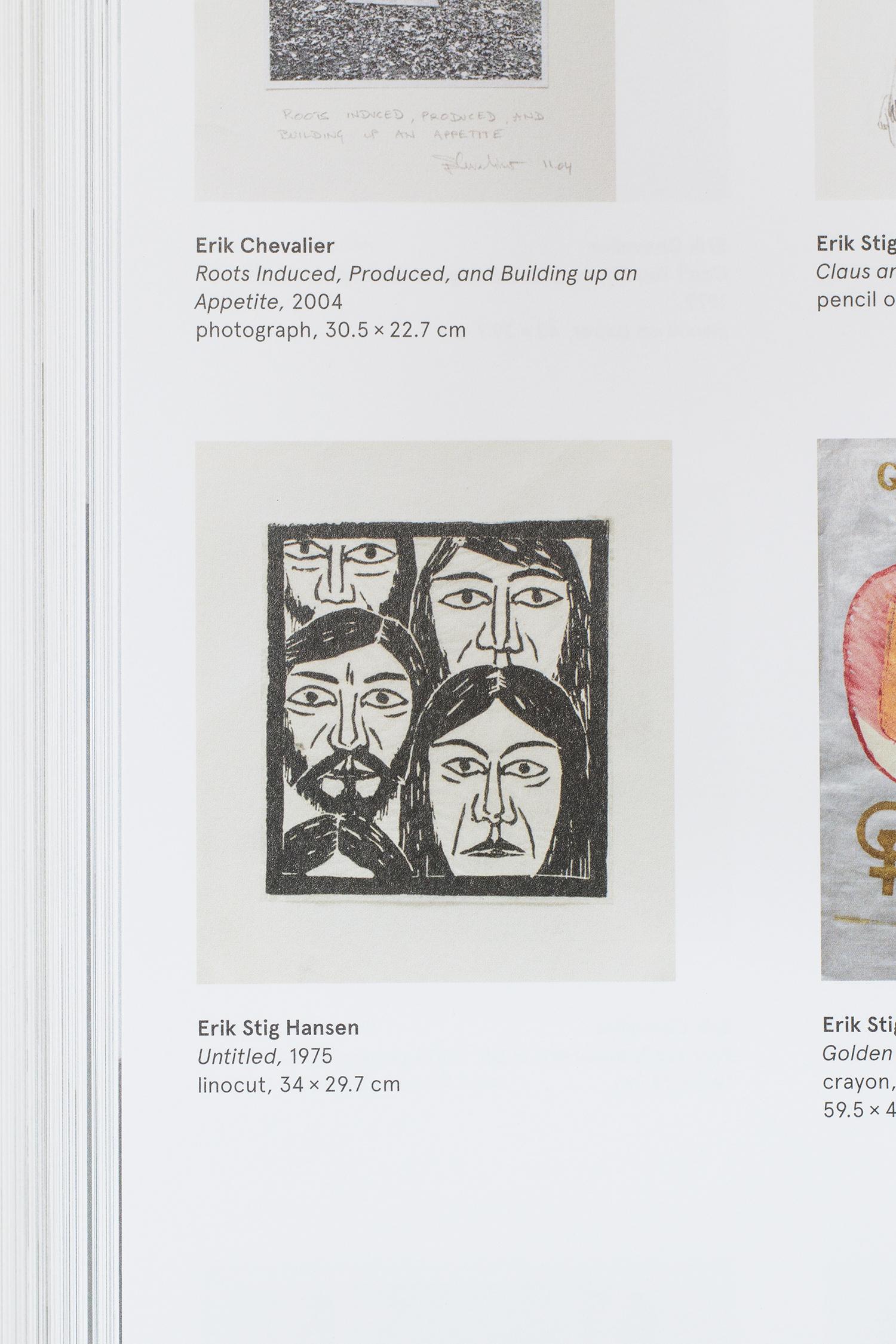 """Erik Stig Hansen """"Untitled"""", 1975."""