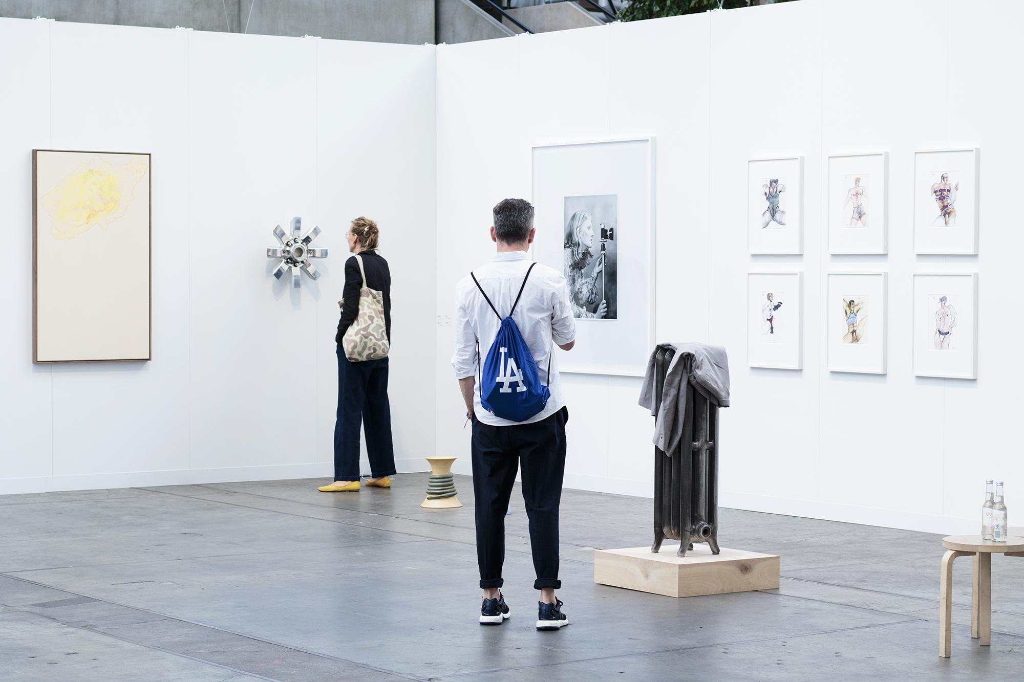 Code Art Fair 2017 (Galerie Neu)   Foto af I DO ART Agency.