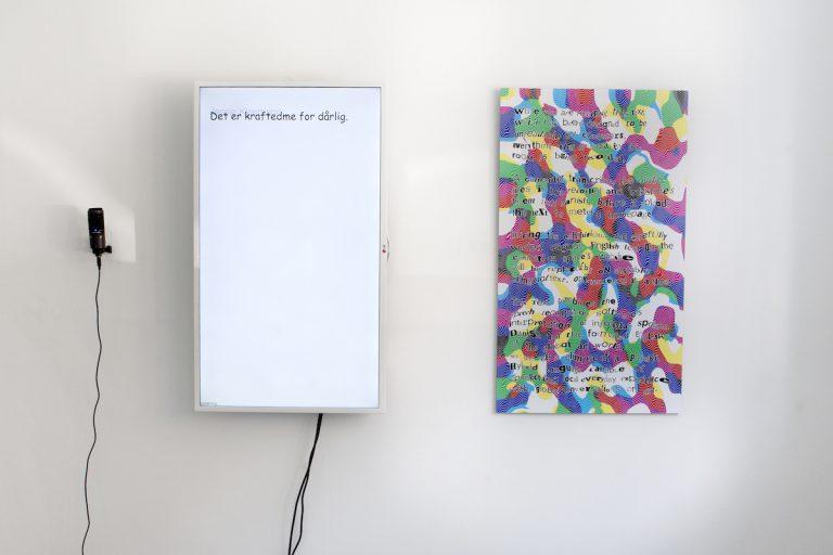 BlindlyListening  by Kristoffer Ørum 2017. Photo: Camilla Reyman.