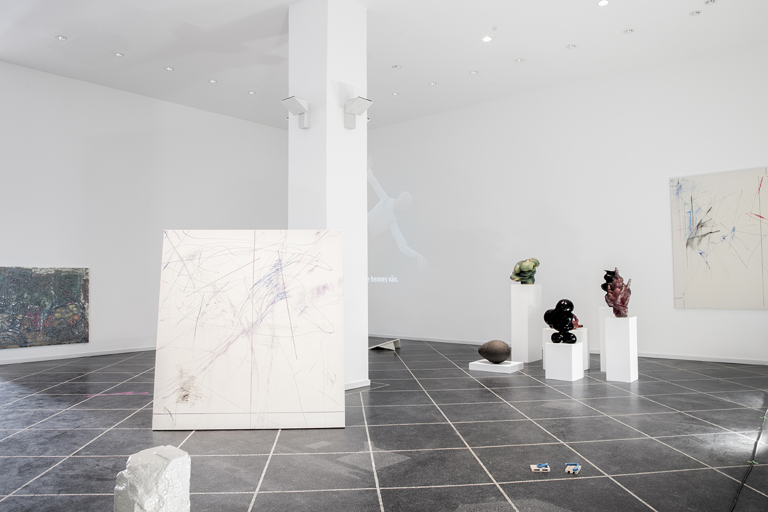 "Installation view. pro temp ""Allow Me To Introduce Myself""."