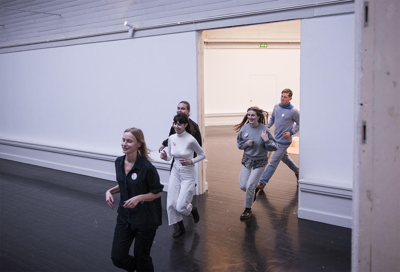Running club. Foto: Mette Sanggaard.