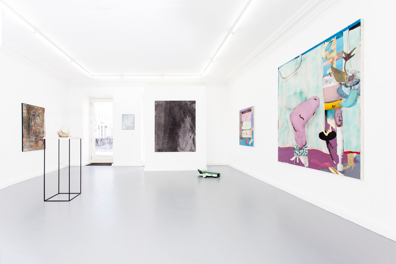 Mostly abstract 03, installation view. Foto: Kristian Touborg.