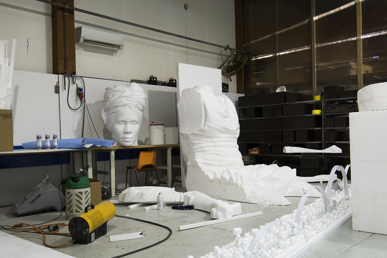 I Am Queen Mary (work in progress) på Wow Factory. Photo © I DO ART Agency.