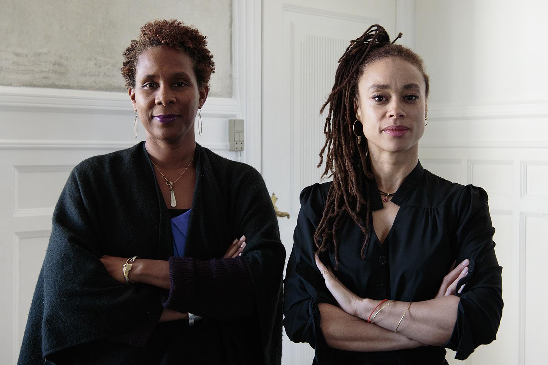 La Vaughn Belle & Jeannette Ehlers. Photo © I DO ART Agency.