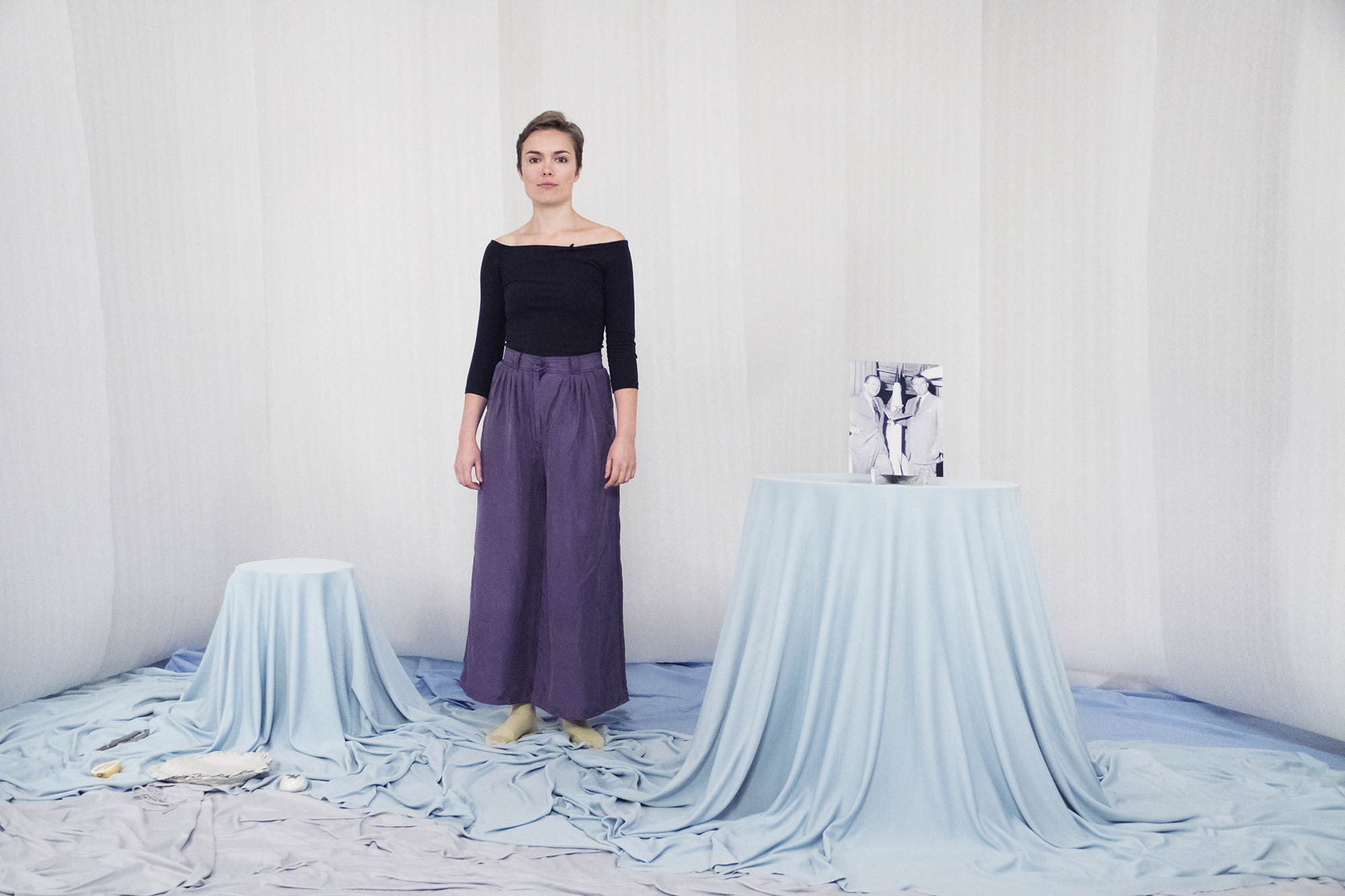 Louise Haugaard Jørgensen, Tonight's Menu (Performance, 2017). Foto © I DO ART Agency.