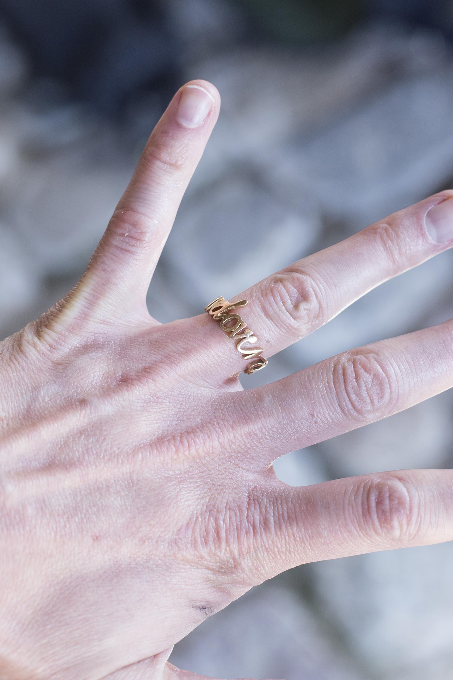 "Signe Boe ""Untitled"" (ring). Foto © I DO ART Agency."