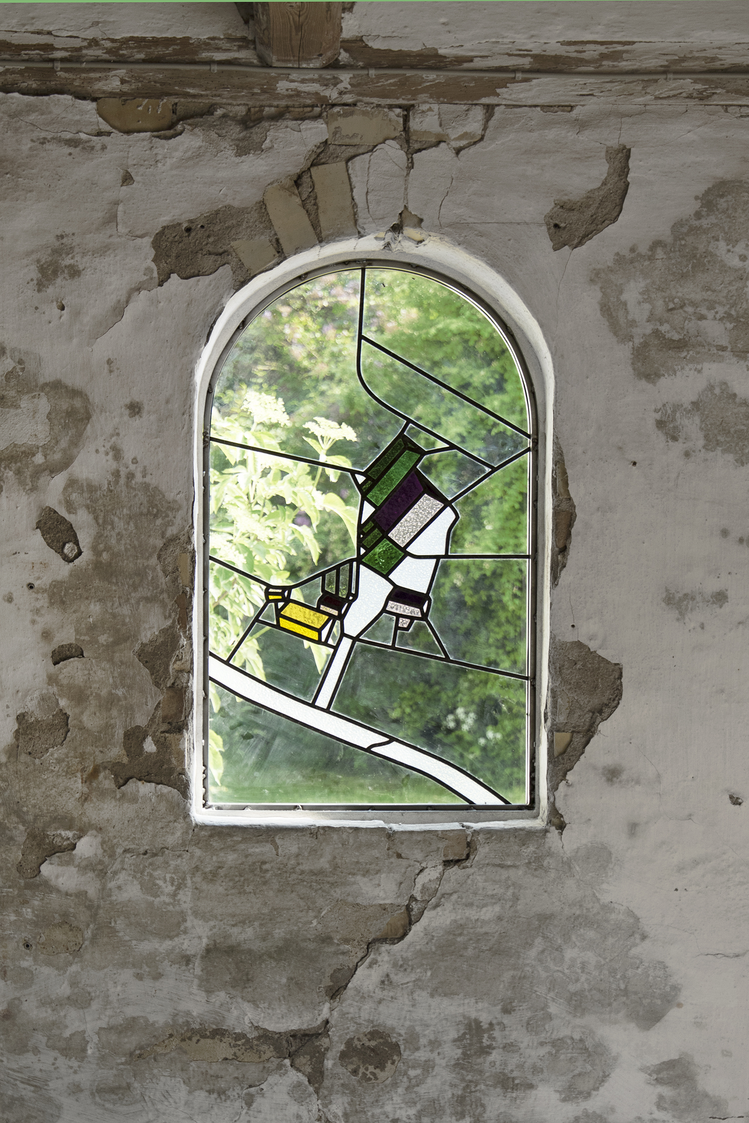 "Signe Boe ""Untitled"" (Blyindfattet mosaik). Foto © I DO ART Agency."